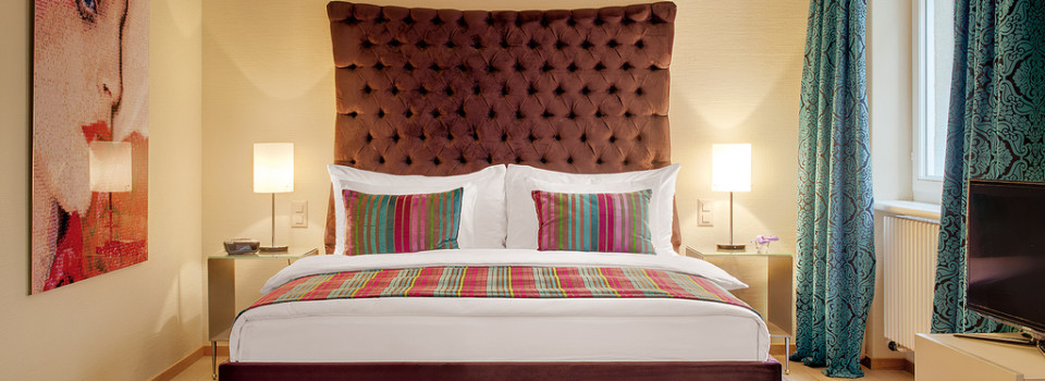 Make a Dramatic Statement in the Bedroom with a Padded Headboard